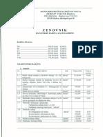 147 Cenovnik Zanatskih Radova Za 2012godinu