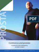 Prostate booklet 2012