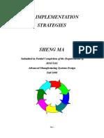 Cim Implementation Strategies
