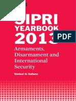 SIPRI Yearbook 2013, Sintesi in italiano