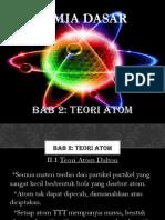 Kimia Dasar Bab 2 Atom
