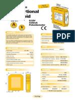 03b- INGLES- Convertidor para Electroválvulas (entrada 0-10V, 4-20mA, Potenciómetro)