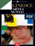 George Calinescu, Cartea nuntii.pdf