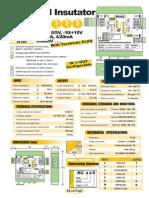 04c2- INGLES-Aislador de 3 vías 24VDC configurable y multirango
