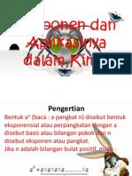 Eksponen dan Aplikasinya dalam Kimia.pptx