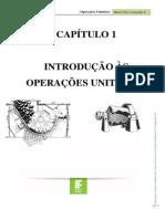 Operações Unitárias - CAP 1 A 5