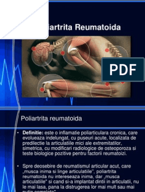 definitie poliartrita reumatoida