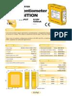 02a- INGLES- Convertidor Posición - Potenciómetro (salida 0-10V, 4-20mA)