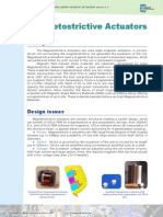 Magnetostrictive Actuators
