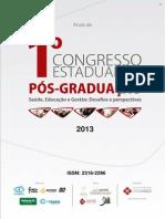 Anais Congresso Pos 2013