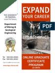 MGE Geomechanics Certificate Program