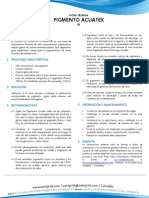Ft Pi 001 Pigmento Acuatex