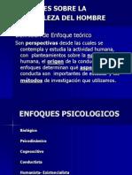 Enfoques Psicologicos y Tarea
