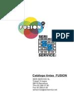 Catalogo Tintas Fusion