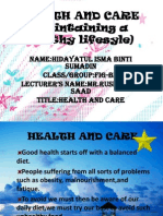 Health and Care Slide Show