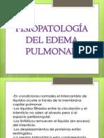 7 FISIOPATOLOGÍA DEL EDEMA PULMONAR