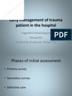 1 Early Management of Trauma Patient in the Hospital