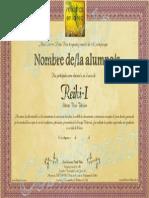 Certificado Reiki-I por Reikistas en la Red_Cartagena