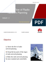 OG 002 Service Flow of Radio Network Planning ISSUE1.1
