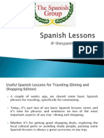 Spanish Lessons @ thespanishgroup.org
