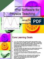 LoggerPro Software for Physics Teaching