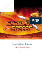 Shaolin Soccer Movie Review Report.docx
