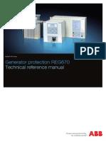 1MRK502027-UEN B en Technical Reference Manual REG670 1.2