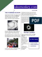 Yakushima Newsletter August 2009