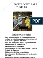 Estudio Geologico Para Tuneles
