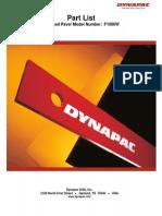 DYNAPAC - F1000W
