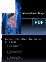 ABSORPTION OF DRUGS.ppt