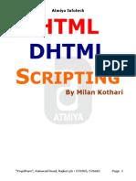 HTML , Dhtml , Java Script (1)