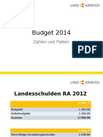 Zahlen und Fakten Budget 2014 Vers 1..ppt