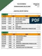 Horario 2o Grado Medicina. Teoria y Practicas 2013_14_v3
