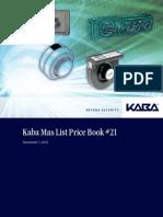 Kaba Mas Pricelist # 21 Rev A.pdf