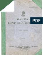 Manual Rupee Loans Section(26)