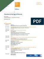 Final Programme FSR
