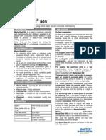 MSDS & TDS -Masterseal 505.pdf