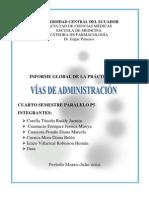 PRACTIK 1 Vías de administración actual