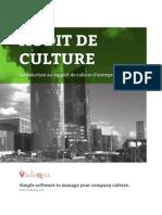 Audit de culture d'entreprise