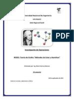 Metodos de Euler y Hamilton