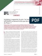 Test UPP Test GUPPI - Revue Lamy Concurrence 37
