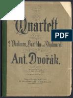 Antonin Dvorak - String Quartet No.12, Op.96 (1893)