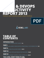 It Ops Devops Productivity Report 2013