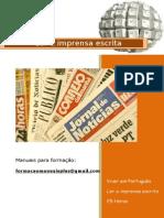 Ler a imprensa escrita_índice