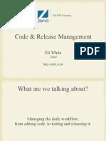 Code & Release Management