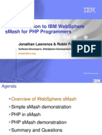 An Introduction to IBM WebSphere sMash for PHP Programmers