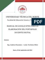 Manual de Google Sites-portafolio