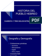 52601768 Historia Del Pueblo Hebreo