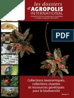 """Dossier """"Collections taxonomiques, collections vivantes et ressources génétiques pour la biodiversité"""""""